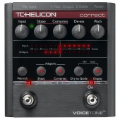 TC Helicon VoiceTone Correct Pitch Correction Effetcs Pedal
